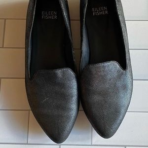 Eileen Fisher Pointed Toe Flat Slipper 6.5